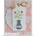 CARD: Love Ya Flower Vase from Floral Wings