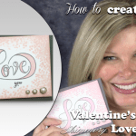 VIDEO: Valentines Day Love You & Love Stinks Shimmer Cards