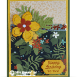 CARD: Botanical Gardens Birthday Card