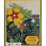 CARD: Botanical Gardens Birthday Card