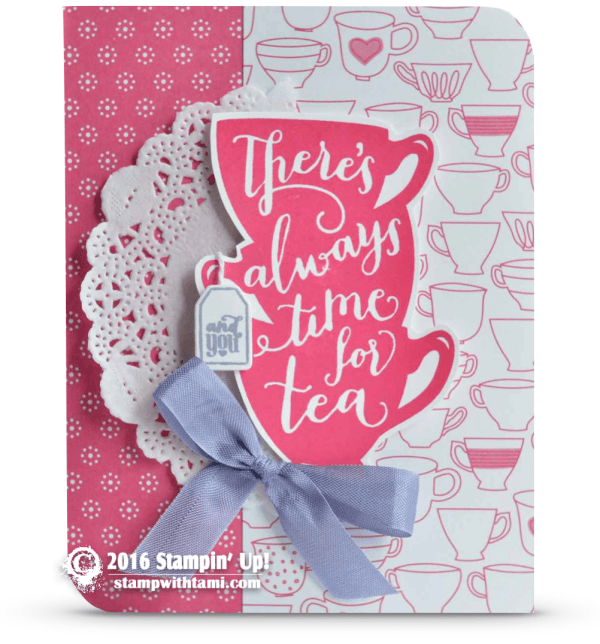 stampin up a nice cuppa card