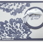 CARD : Simply beautiful Definitely Dahlia card