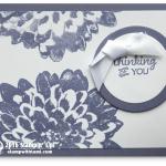 CARD : Simply beautiful Definitely Dahlia card