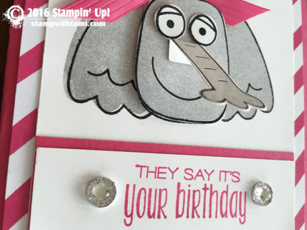 stampin up playful pals elephant card 1