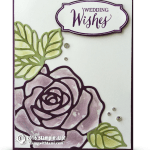 CARD: Cool Rose Wonder Wedding Wishes Technique & Winner Announcement