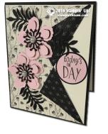 Stampin Up peek-a-boo card