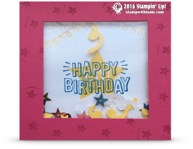stampin up confettit celebration