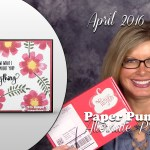 VIDEO: April Paper Pumpkin Kit, Alternate Project, Sneak Peek & Giveaway