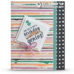 SNEAK PEEK: Birthday Genius Card from the Painters Palette