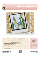 2016-06 Stampin Up Photobombing Llama Card-stampwithtami