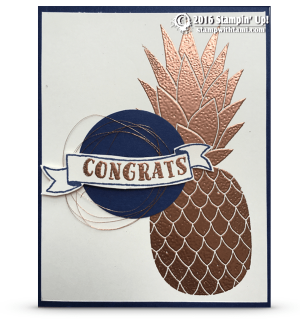 stampin up copper pineapple1