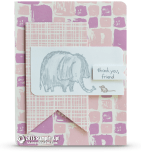 stampin up love you lots elephant card