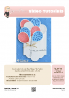 2016-07 Stampin Up Balloon Bouquet Card-stampwithtami