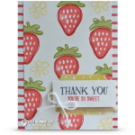 CARD: Thank you, you're so sweet from Fresh Fruit