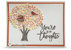 stampin up thoughtful branches mary bush