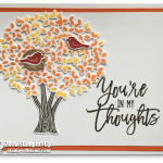CARD: You're in my thoughts from the Thoughtful Branches set