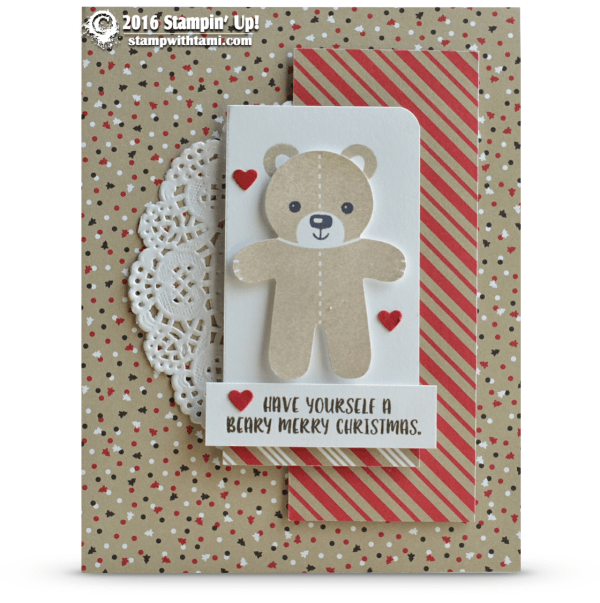 have yourself a beary merry christmas - stampin up