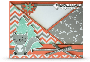 stampin up a little foxy card