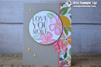 stampin up fresh fruit