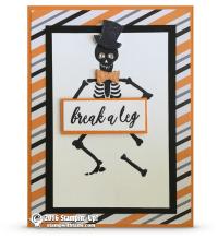 stampin up mr funny bones skeleton card