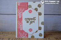 stampin up seaside shore 2