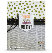 stampin up suite sayings halloween card