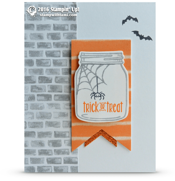 stampin up trick or treat