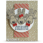 CARD: Reindeer Friends from Cookie Cutter Christmas