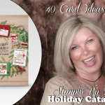 VIDEO: 40 Holiday Catalog cards in 15 minutes plus new Giveaway