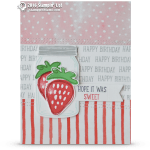 CARD: Hope it was Sweet Strawberry Card