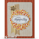 CARD: Wondrous Wreath Sympathy Card