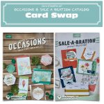 SWAP: Stampin Up Occasions & SAB Catalog Pre-Order Card Swap