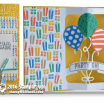 SNEAK PEAK & VIDEO: Balloon Adventures Pop-Up Birthday Card