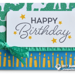 CARD: Birthday Blast with the Candle Border  Punch