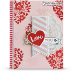 BLOG HOP: Bloomin' Love Card on Valentine's Day