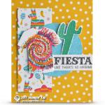 CARD: Birthday Fiesta Tie Dyed T-Shirt Card