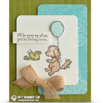 CARD: Up when you're feeling down from Bella and Friends Stamps