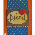 SNEAK PEEK: Hello Friend from Lovely Words Dies