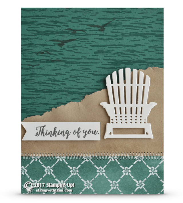 Stampin Up Colorful Seasons and High Tide stamp sets