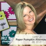 VIDEO: April 2017 Paper Pumpkin Kit, Alternate Projects & Giveaway