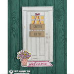 CARD: Grateful For You Door Card from the At Home Bundle