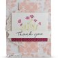 CARD: Thank You Card from Background Bits Stamps
