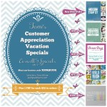 SPECIALS: Tami's Customer Appreciation Mega Vacation Specials – July 1-15