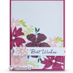 CARD: Best Wishes from the Blooms & Wishes Set