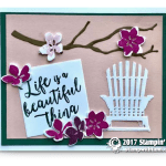 CARD: Life is a Beautiful Thing Card from the Colorful Seasons Stamps