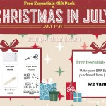 SPECIAL: Free Essentials Gift Pack with Demo Kit Special valued at $72 ends July 31