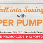 SALE: 50% OFF September Paper Pumpkin Kits – ends September 10