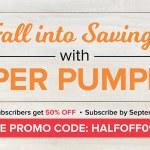 SALE: 50% OFF September Paper Pumpkin Kits – ends September 10