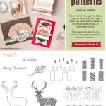 SPECIAL OFFER: Merry Patterns Stamp Set free with $300 orders thru October 31