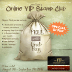 FREE GRAB BAG: Join my VIP Online Stamp Club – ends September 30